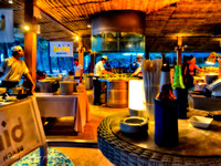 chefs and dining Bimi Beach club