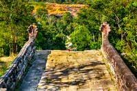 Prasat Preah Vihear has the most spectacular setting of all the temples
