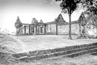 temple Ruins High Key World heritage site Cambodia