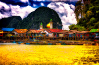 Koy Panyee  Thailand Fishing Village impression