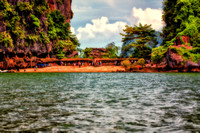 Phi Phi Islands, James Bond, and Koh Panyee Fishing Village Thailand  Fine Art Print Collection