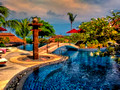 salt water pool Mangosteen Spa and Resort
