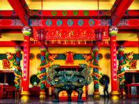 Guanau-Nabon Chinese Shrine Phuket Thailand Fine ART Collection