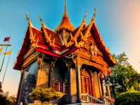 Wat Ladthiwanram Chalong Phuket Thailand FINE ART COLLECTION
