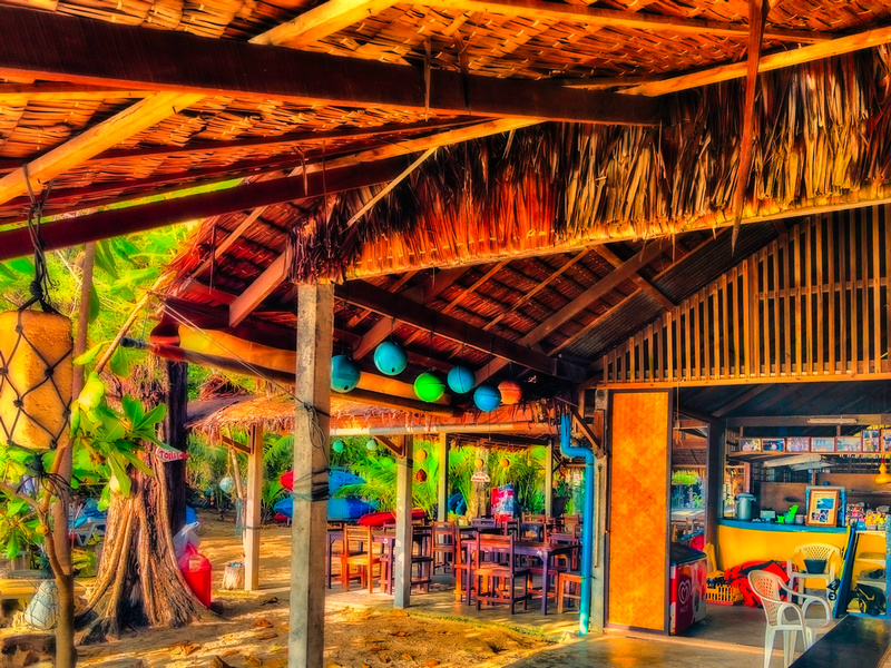 Bar at Ya Nui Beach impression