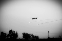 helocopter firing infrared